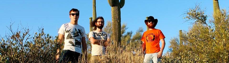 Les 3 membres du groupe Livingstone