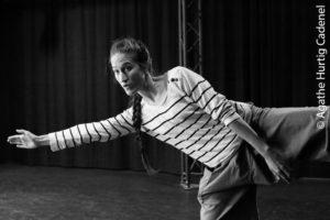 Portrait de la danseuse Chloé Chevaleyre