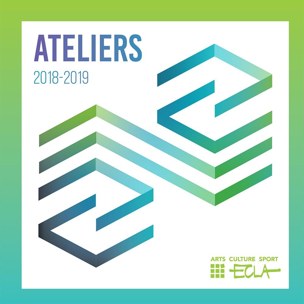Couverture de la brochure des ateliers 2018 2019