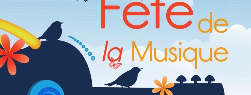 Visuel de la fête de la musique de Saint-Cloud 2018