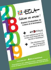 Carte d'adhérent 2018/2019