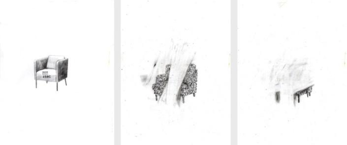 Fauteuils d'IKEA n°1, n°23, n°27