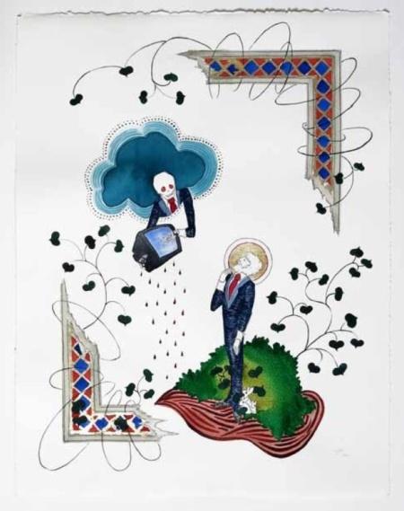 Saint Jean et l'Ange de la Mort, Clara Juliane Glauert