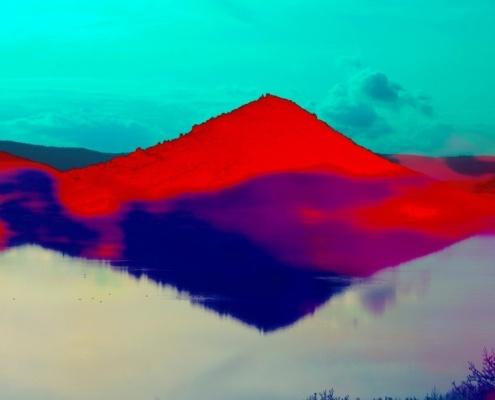 Philippe Fabian, Paysages choisis 14 - Lac du Salagou