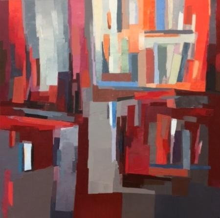 Composition grise, Anne Jacob Van de Kerchove