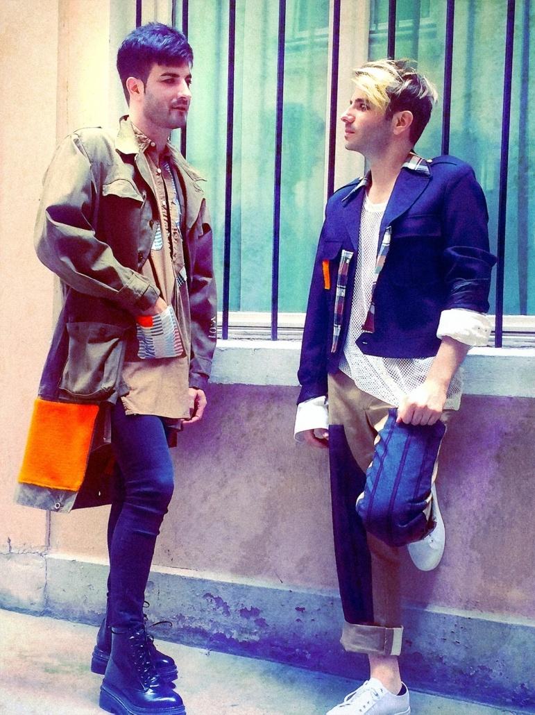 Photo des deux membres du groupe Ego