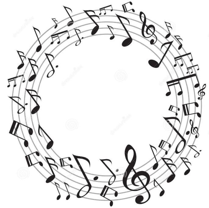 image cercle de notes