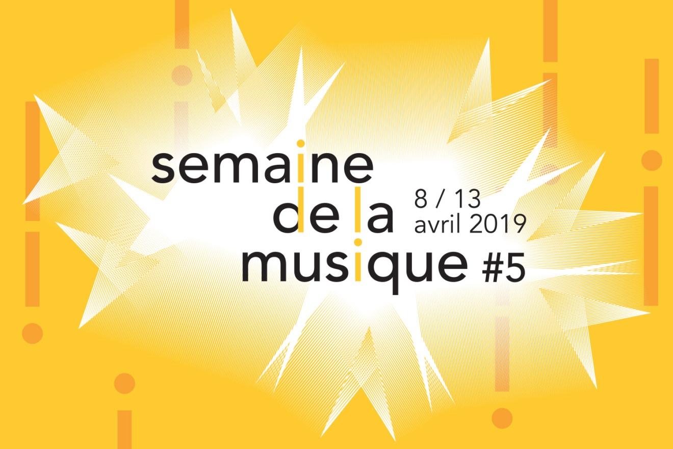 Logo de la semaine de la musique 2019