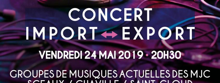 Visuel du concert Import-Export