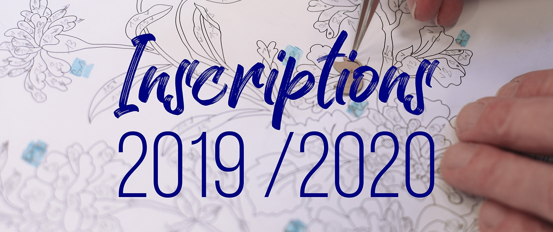 Inscriptions 2019 2020