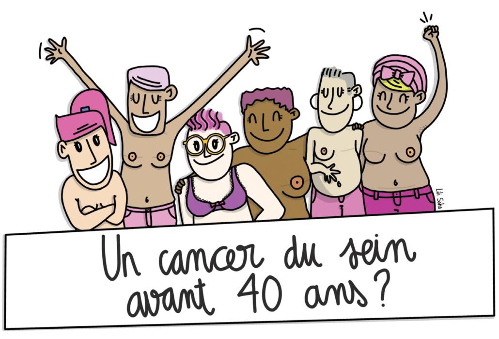 Illustration sur le cancer du sein