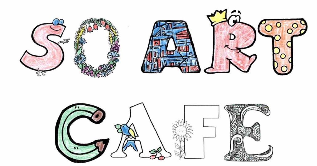 Lettres décorées du So Art Café