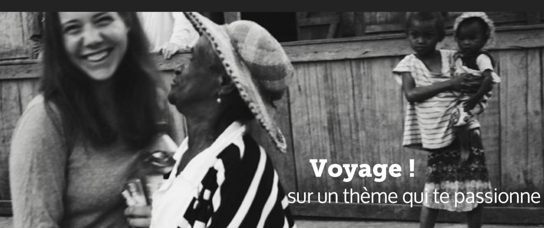Gaëlle Dubot lors de son voyage à Madagascar