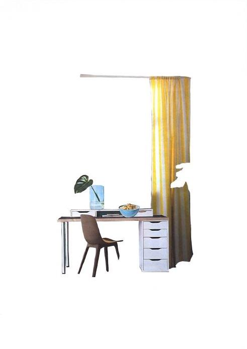 Mise en scène d'IKEA - julie hans vazquez
