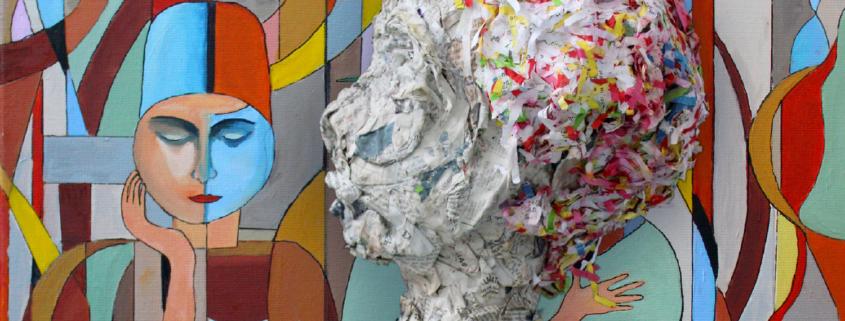 Visuel de l'expo Tête portrait autoportrait