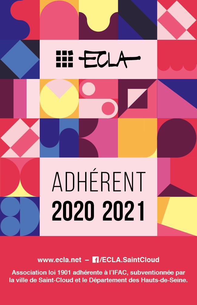 Visuel de carte adhérent 2020 2021