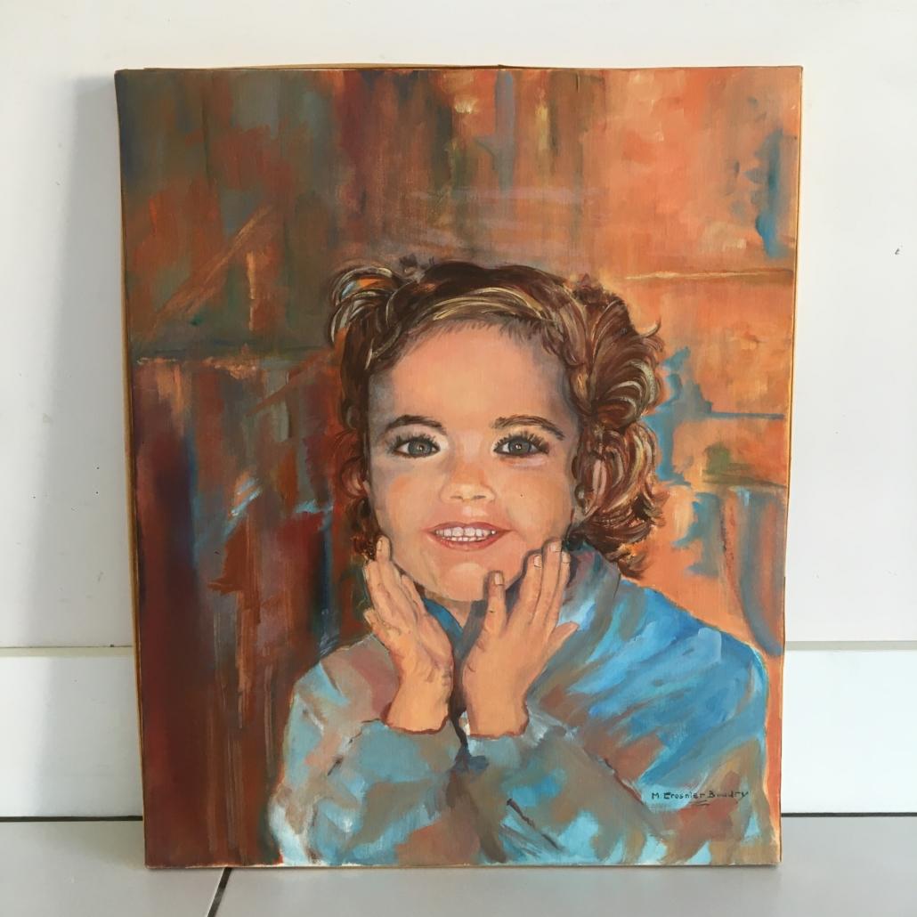 Peinture de Marcelle Crosnier