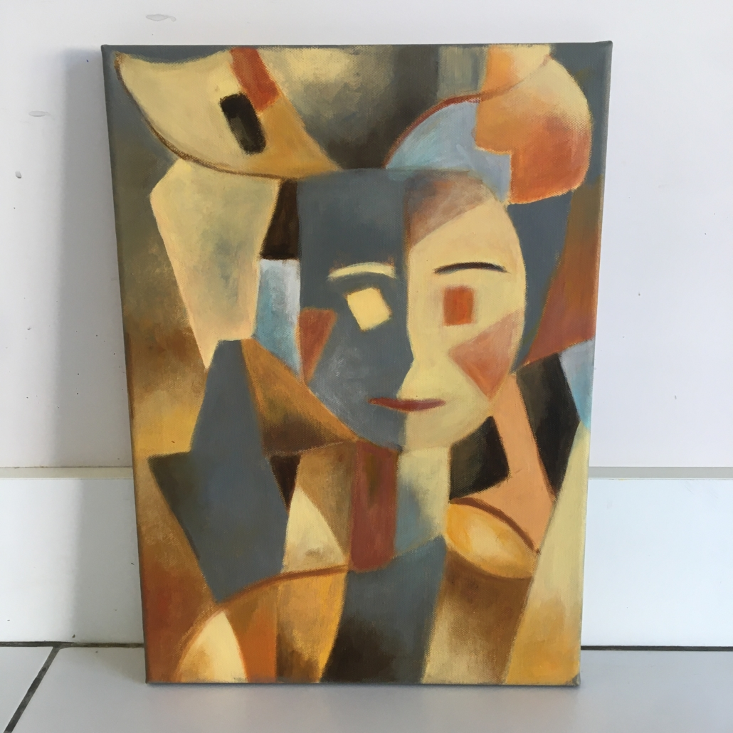 Peinture de Noelle Roques