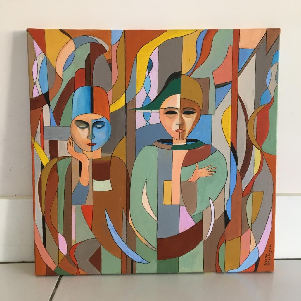 Peinture de Suzanne Charbonneau