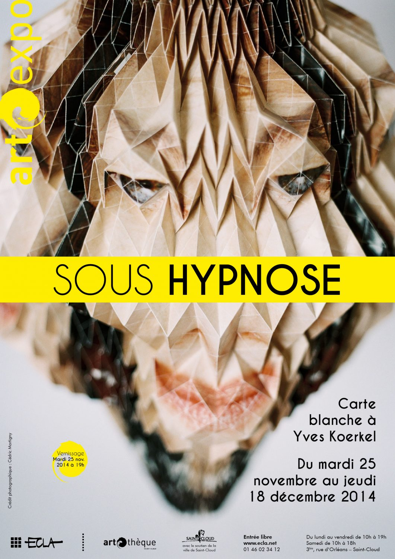 Affiche de l'exposition Sous hypnose