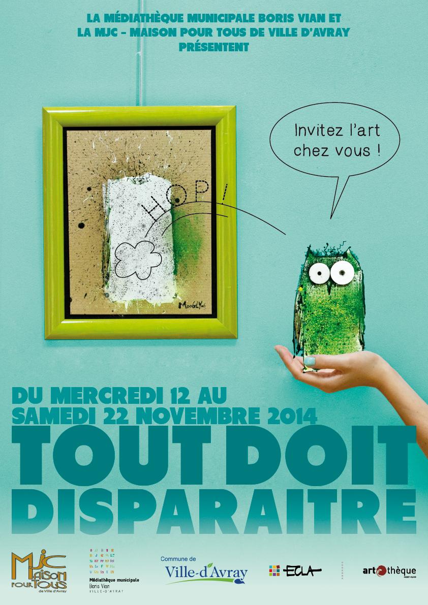 Affiche de l'exposition Tout doit disparaître