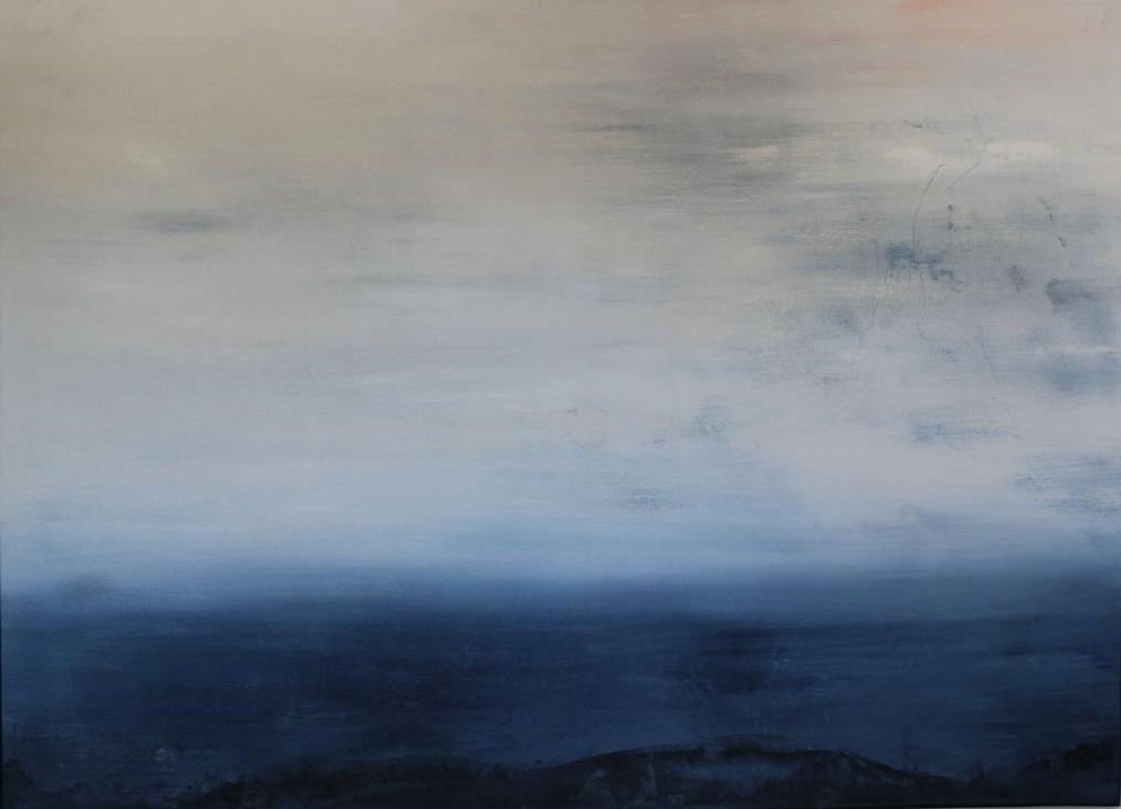 Petit nuage clair riant du poids des vagues - Christine Lacour