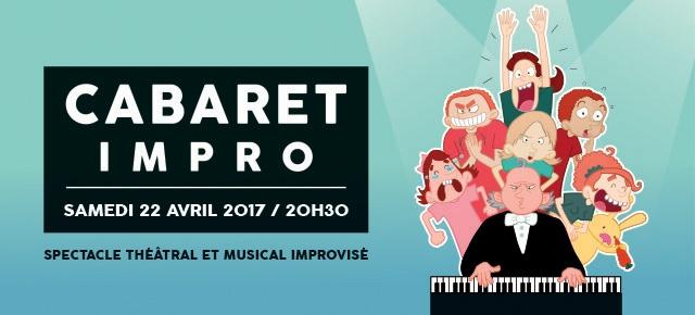 Bannière du Cabaret Impro