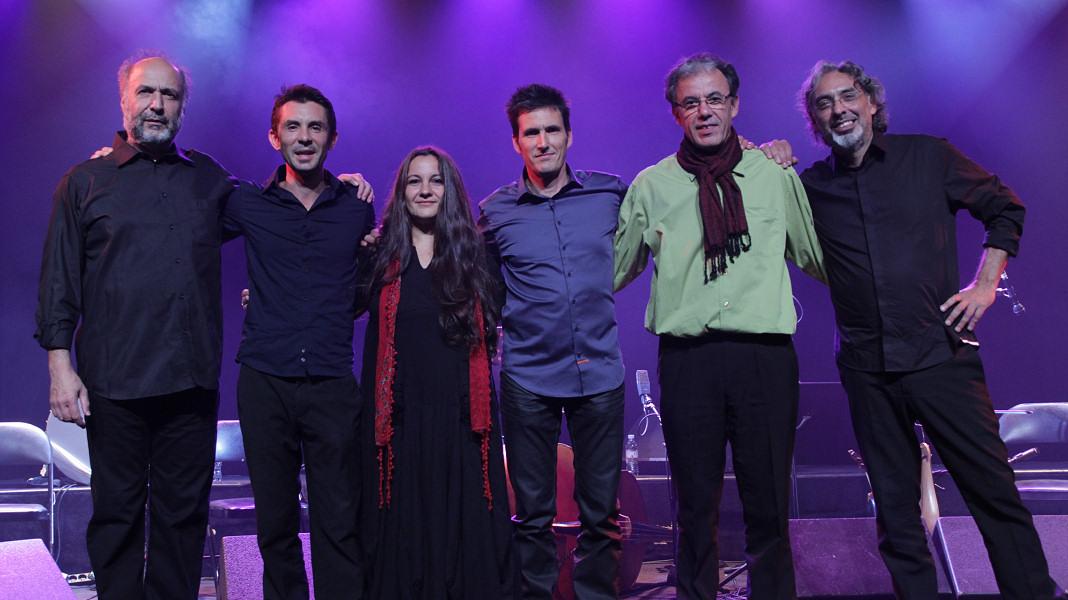 Les 6 membres du groupe Paris Damas Istanbul