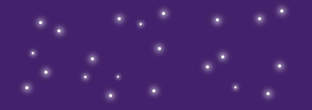 Illustration ciel étoilé